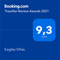 Booking.com Travellers Review Awards 2021
